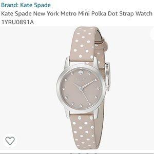 Kate Spade Mini Polka Dot Metro watch